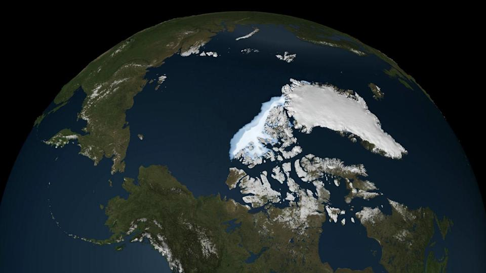 Here's what would happen if all the ice in the Arctic melted