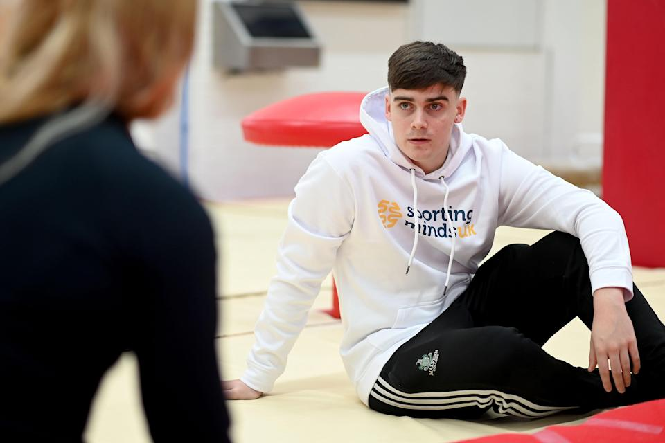 Callum Lea wants to help young sportspeople (Sporting Minds UK/PA)