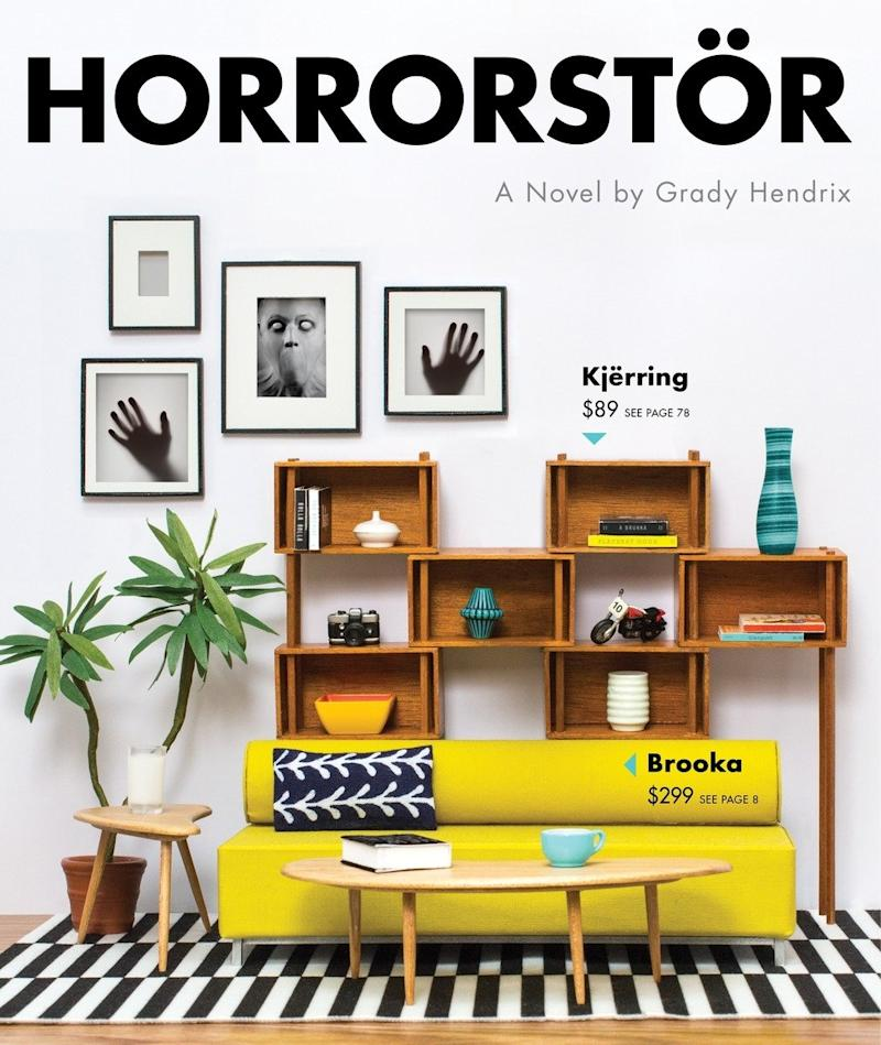 The cover art for Horrorstör. (Quirk Books)