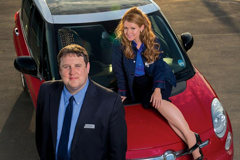Charming: Peter Kay and Sian Gibson are back with more Car Share episodes: BBC/Goodnight Vienna Productions