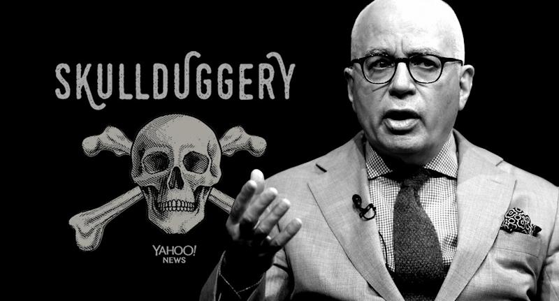 Michael Wolff. (Photo illustration: Yahoo News; photo: Carolyn Kaster/AP)