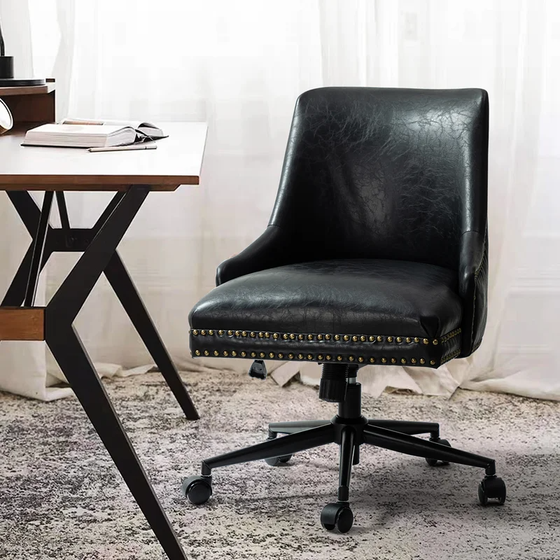 """<h2>Industrial Lodge Positano Task Chair</h2><br><strong>Best For: Executive Style</strong><br>Make a statement with this substantial faux leather chair that features a high back, integrated arms, and nailhead trim for a tailored touch.<br><br><strong>The Hype: </strong>4.7 out of 5 stars and 50 reviews on <a href=""""https://www.wayfair.com/furniture/pdp/industrial-lodge-home-positano-task-chair-w004598179.html"""" rel=""""nofollow noopener"""" target=""""_blank"""" data-ylk=""""slk:Wayfair"""" class=""""link rapid-noclick-resp"""">Wayfair</a><br><br><strong>Comfy Butts Say: </strong>""""LOVE this chair, I was looking for something in a leather tone to accent with my dark green walls, and its beautiful. Comfortable and the back is just the right height..""""<br><br><strong>Industrial Lodge Home</strong> Positano Task Chair, $, available at <a href=""""https://go.skimresources.com/?id=30283X879131&url=https%3A%2F%2Fwww.wayfair.com%2Ffurniture%2Fpdp%2Findustrial-lodge-home-positano-task-chair-w004598179.html"""" rel=""""nofollow noopener"""" target=""""_blank"""" data-ylk=""""slk:Wayfair"""" class=""""link rapid-noclick-resp"""">Wayfair</a>"""