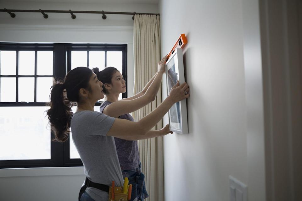 <p>If you're looking to spruce up your space with photos, curtains, or some other wall decorations but aren't sure where to start, we're here to help. </p><p>Hanging pictures on a wall isn't a one-nail-and-done affair—it may be tempting to stick a thumbtack in your wall but if you want to do the job right so that heavier objects are supported and secure, this is what you'll need to get it right. You need to think about what materials your walls are made of (plaster, drywall, brick) and choose the best hardware for the given material. Here are eleven things (and their corresponding anchors or fasteners) you'll need to turn your house into a cozier and more functional home whether it's with framed family photos, tapestries, or a new curtain set. </p>