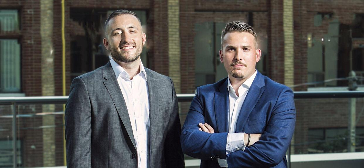 Viral Nation co-founders Mathew Micheli, left, and Joseph Gagliese. (Photo: Courtesy Viral Nation)