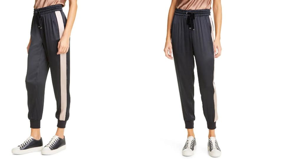Cami NYC Anisha Side Stripe Silk Joggers - Nordstrom, $101 (originally $253)