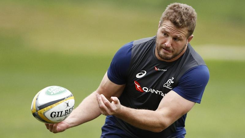 RUGBY WALLABIES TRAINING