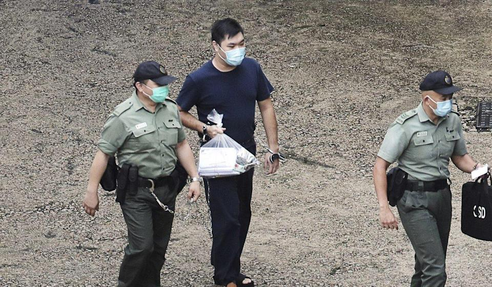 Tong Ying-kit is the first Hong Kong resident charged under the Beijing-imposed national security law. Photo: Handout