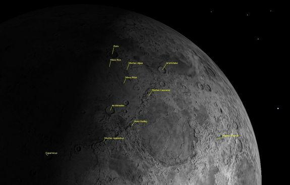 Best Time to See Moon Mountains in May Is Now