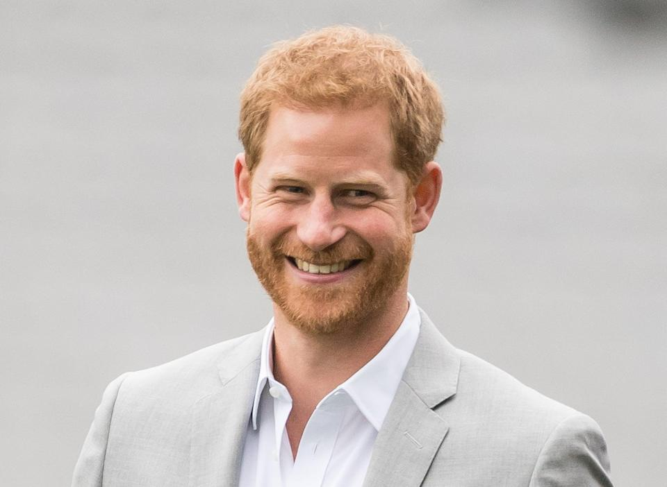 DUBLIN, IRELAND - JULY 11:  Prince Harry, Duke of Sussex visits Croke Park, home of Ireland's largest sporting organisation, the Gaelic Athletic Association on July 11, 2018 in Dublin, Ireland.  (Photo by Samir Hussein/Samir Hussein/WireImage)
