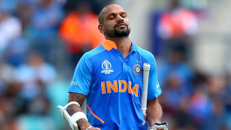 Dhawan to stay in England as India monitor injured opener