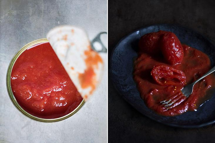Be it tomato paste, tomato purée or whole tomatoes, a little goes a long way in this 'ragù.'