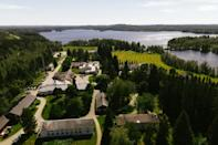 The Orthodox Christian monastery Valamo in Finland is a pilgrimage stop or spiritual retreat for 160,000 visitors a year