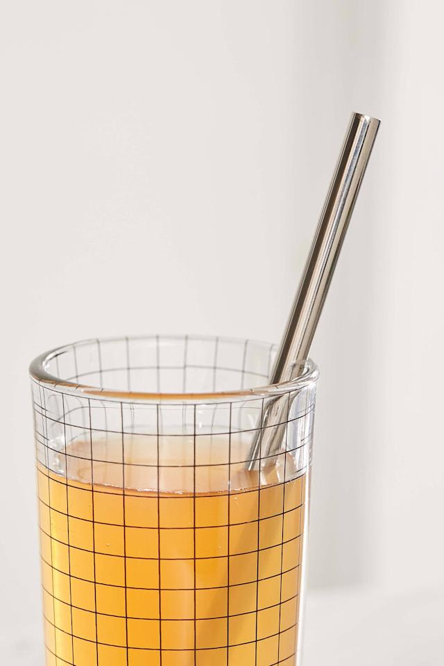 """<p>Save the world, one straw at a time, with the <a href=""""https://www.popsugar.com/buy/Life-Without-Plastic-Stainless-Steel-Straw-Cleaning-Brush-Kit-476302?p_name=Life%20Without%20Plastic%20Stainless%20Steel%20Straw%20and%20Cleaning%20Brush%20Kit&retailer=urbanoutfitters.com&pid=476302&price=13&evar1=casa%3Aus&evar9=46462555&evar98=https%3A%2F%2Fwww.popsugar.com%2Fphoto-gallery%2F46462555%2Fimage%2F46462698%2FLife-Without-Plastic-Stainless-Steel-Straw-Cleaning-Brush-Kit&list1=shopping%2Cstraws&prop13=api&pdata=1"""" rel=""""nofollow"""" data-shoppable-link=""""1"""" target=""""_blank"""" class=""""ga-track"""" data-ga-category=""""Related"""" data-ga-label=""""https://www.urbanoutfitters.com/shop/life-without-plastic-stainless-steel-straw-cleaning-brush-kit?category=SEARCHRESULTS&amp;color=007"""" data-ga-action=""""In-Line Links"""">Life Without Plastic Stainless Steel Straw and Cleaning Brush Kit</a> ($13). The handy brush and organic cotton carrying sleeve make using this straw a breeze. </p>"""