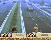 <strong>Launched on 4 March 2016 </strong>at a budget of ₹102 billion, this initiative aims to make all national highways free of railway crossings by 2019. Under the project, as many as 208 rail over and under bridges (ROBs/RUBs) would be constructed at unmanned railway crossings on national highways and 1,500 dilapidated British-era bridges would be widened, rehabilitated or replaced in a phased manner at a cost of ₹208 billion (US$3.0 billion) and ₹300 billion (US$4.3 billion), respectively.