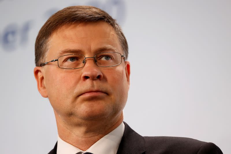 No U.S. mini trade deals in pipe after lobster pact - EU's Dombrovskis