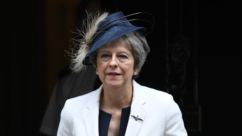 """UK Prime Minister Theresa May has chaired a """"productive"""" meeting after two ministers quit"""