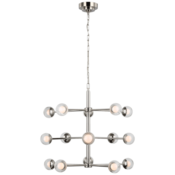 "<p>circalighting.com</p><p><strong>$2039.00</strong></p><p><a href=""https://www.circalighting.com/alloway-small-barrel-chandelier-ks5230/"" rel=""nofollow noopener"" target=""_blank"" data-ylk=""slk:Shop Now"" class=""link rapid-noclick-resp"">Shop Now</a></p><p>A silver barreled chandelier emphasizes the ""modern"" in mid-century modern. </p>"