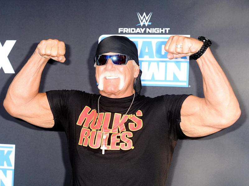 Hulk Hogan and his ex-wife Linda have been banned from AEW events: Getty