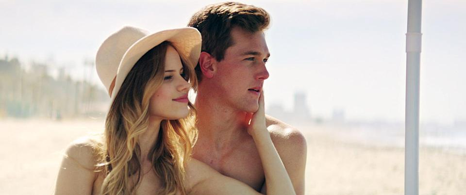 """<p>For a rom-com that transforms into a psychological thriller, look no further than <strong>You Get Me</strong>, starring Bella Thorne, Halston Sage, and Taylor John Smith. After Holly (Thorne) meets Tyler (Smith) at an end-of-Summer party, the obsession begins.</p> <p>Watch <a href=""""https://www.netflix.com/title/80155477"""" class=""""link rapid-noclick-resp"""" rel=""""nofollow noopener"""" target=""""_blank"""" data-ylk=""""slk:You Get Me""""><strong>You Get Me</strong></a> on Netflix now.</p>"""
