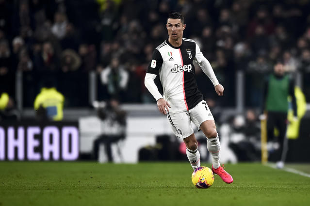 Cristiano Ronaldo and Juventus are looking to do the Serie A double over Napoli. (Photo by Nicolò Campo/LightRocket via Getty Images)