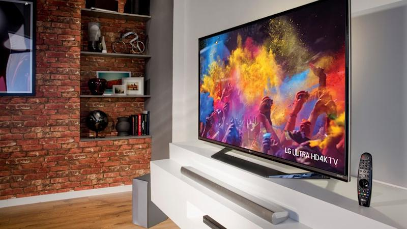 Save big on this big 4K TV from LG (Photo: Amazon)