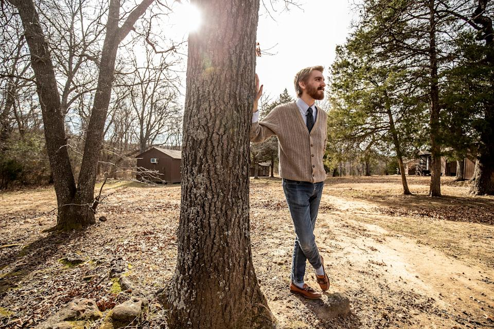 """Noah Cleveland returned to Osage Hills State Park with USA TODAY. """"The way he went about it wasn't designed to make me uncomfortable,"""" he said. """"It was designed to do exactly the opposite: To build a relationship and make me believe he is someone I can trust."""""""