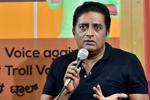 Prakash Raj, who stood as an independent, was trailing third in Bengaluru Central.