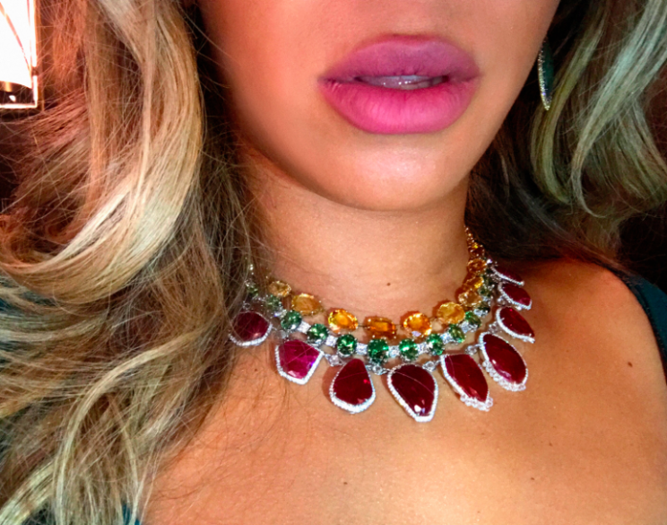 Some fans have been speculating about whether Beyonce has had lip fillers [Photo: Beyonce.com]