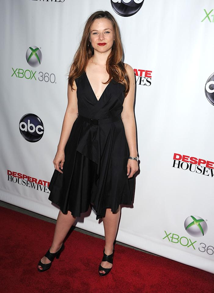 "Joy Lauren attends the ""<a target=""_blank"" href=""http://tv.yahoo.com/desperate-housewives/show/36265"">Desperate Housewives</a>"" Series Finale Party at the W Hollywood on April 29, 2012 in Hollywood, California."