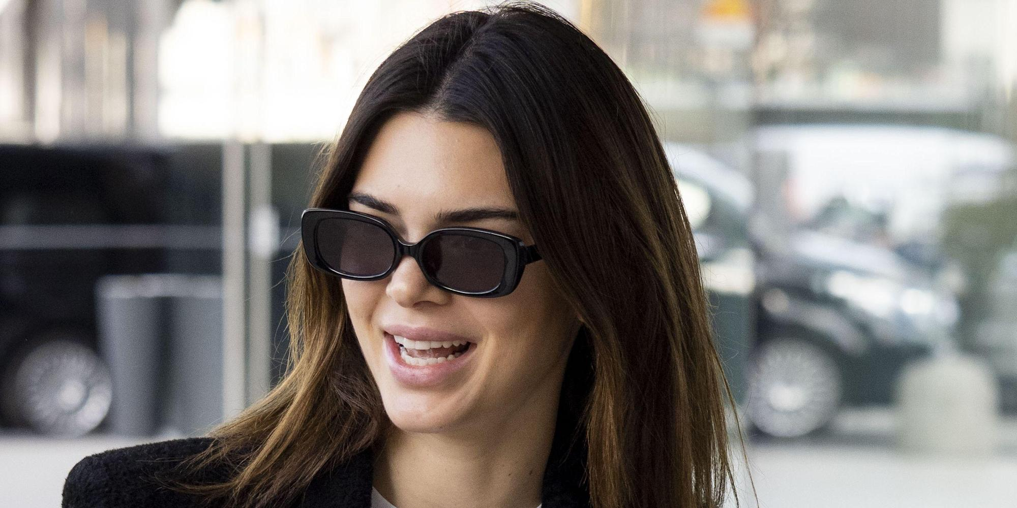 Kendall Jenner Responds to a Comment That Her Skims Lingerie Photo Causes Body Insecurity - Yahoo Lifestyle