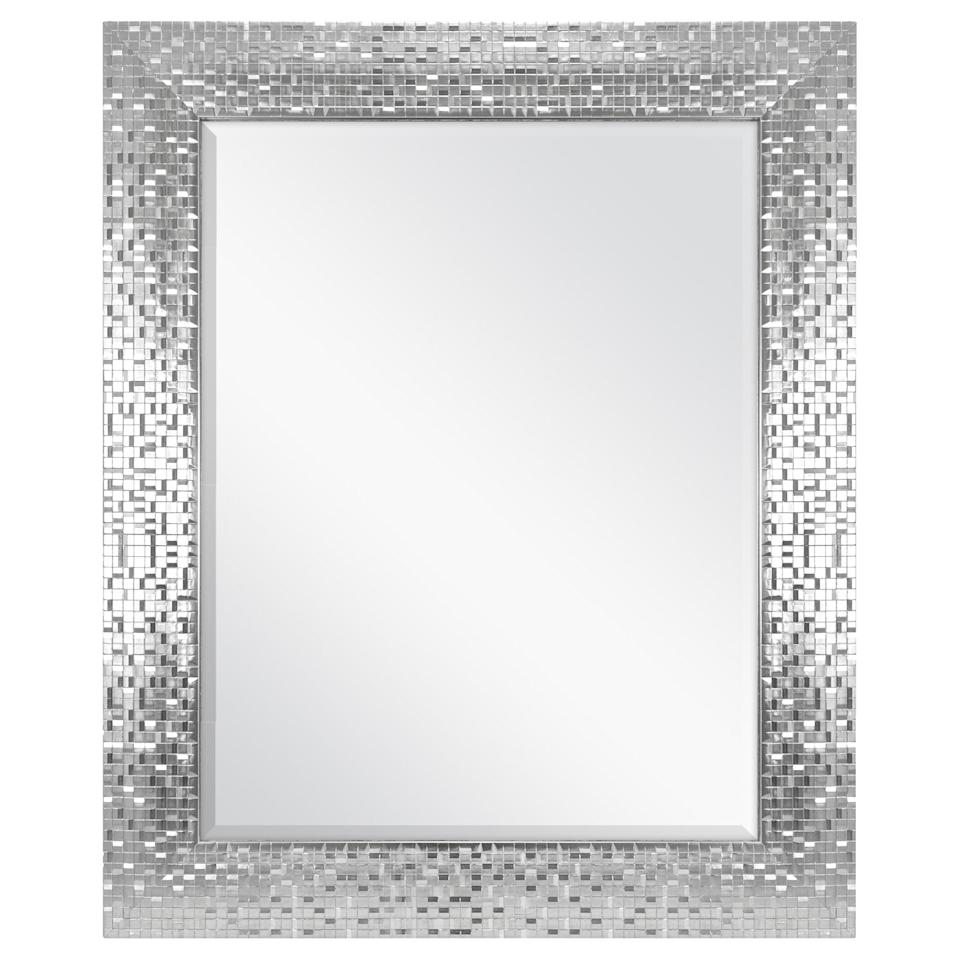 "<p>Make your hallway feel larger with this <a href=""https://www.popsugar.com/buy/Better-Homes-amp-Gardens-Silver-Tile-Mirror-402832?p_name=Better%20Homes%20%26amp%3B%20Gardens%20Silver%20Tile%20Mirror&retailer=walmart.com&pid=402832&price=30&evar1=casa%3Aus&evar9=45784601&evar98=https%3A%2F%2Fwww.popsugar.com%2Fhome%2Fphoto-gallery%2F45784601%2Fimage%2F45784634%2FBetter-Homes-Gardens-Silver-Tile-Mirror&list1=shopping%2Cwalmart%2Cproducts%20under%20%2450%2Caffordable%20decor%2Cdecor%20inspiration%2Caffordable%20shopping%2Chome%20shopping&prop13=api&pdata=1"" class=""link rapid-noclick-resp"" rel=""nofollow noopener"" target=""_blank"" data-ylk=""slk:Better Homes &amp; Gardens Silver Tile Mirror"">Better Homes &amp; Gardens Silver Tile Mirror</a> ($30).</p>"