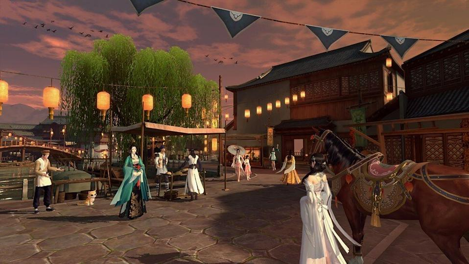 With Moonlight Blade, Tencent promises cutting-edge graphics and a gameplay experience equal to playing the MMORPG on PC. Photo: Handout