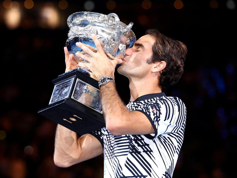 Federer beat Nadal in the Australian Open final (Getty)