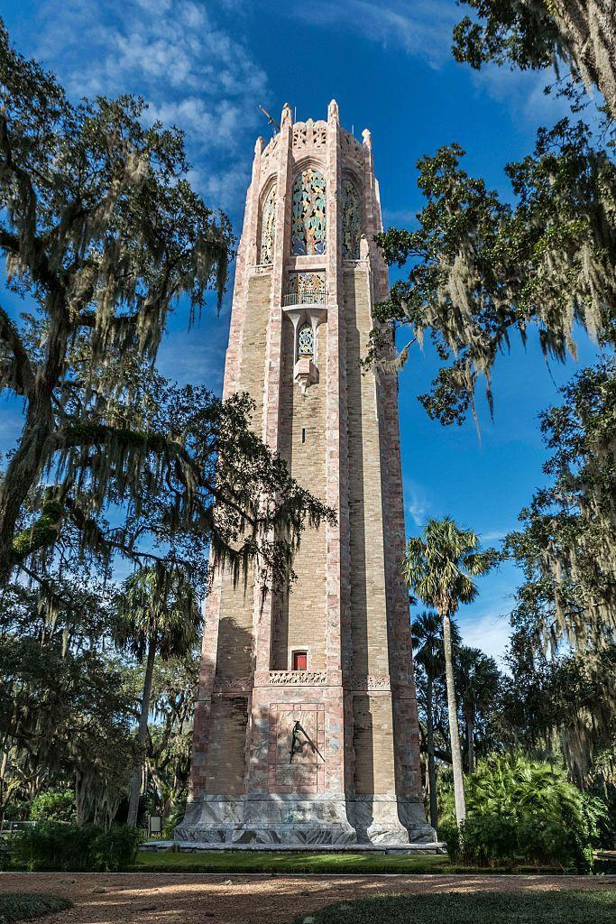 """<p>There's no end to the entertainment options in Central Florida, but if you'd like a break from theme parks, head over to the <a href=""""https://boktowergardens.org/"""" rel=""""nofollow noopener"""" target=""""_blank"""" data-ylk=""""slk:Bok Tower Gardens"""" class=""""link rapid-noclick-resp"""">Bok Tower Gardens</a>. The tranquil gardens are considered one of the greatest works of Frederick Law Olmsted, Jr., and are open 365 days a year. Yet the most remarkable sight is the 205-foot-tall Singing Tower, which houses one of the world's finest carillons. Concerts from the carillon fill the gardens with music at 1 and 3 p.m. daily. </p>"""