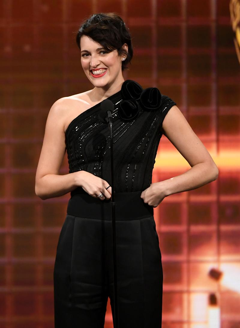 Phoebe Waller-Bridge says she wasn't given James Bond gig because she's female. (Photo: Kevin Winter/Getty Images for BAFTA LA)