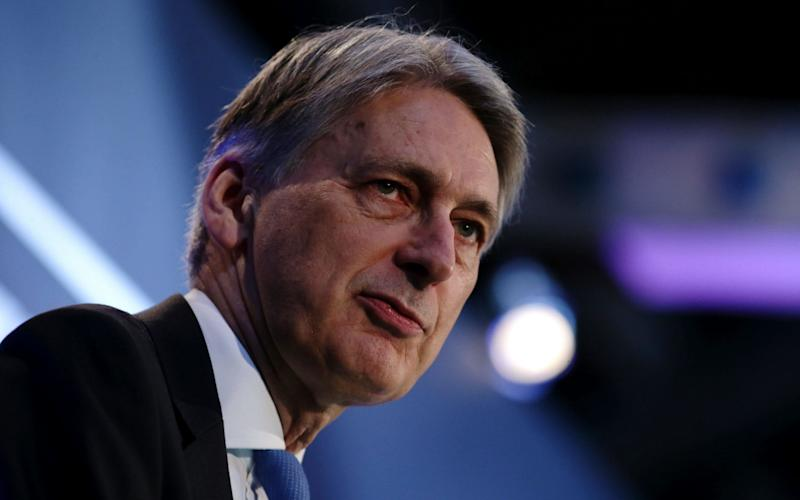 Philip Hammond, the Chancellor - AFP