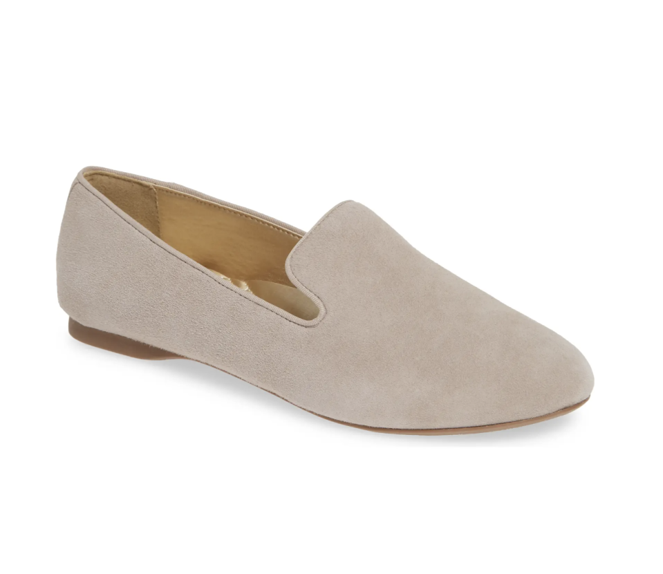 The Starling Loafer in Slate Suede- $120