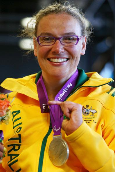Louise Ellery defied all odds and became a champion Paralympian. Source: Supplied