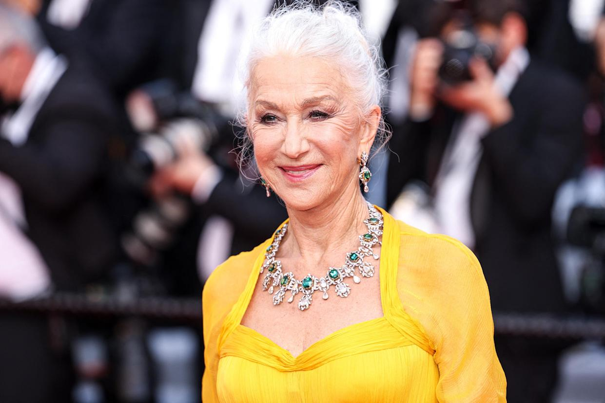 CANNES - JULY 06: Helen Mirren arrives to the premiere of