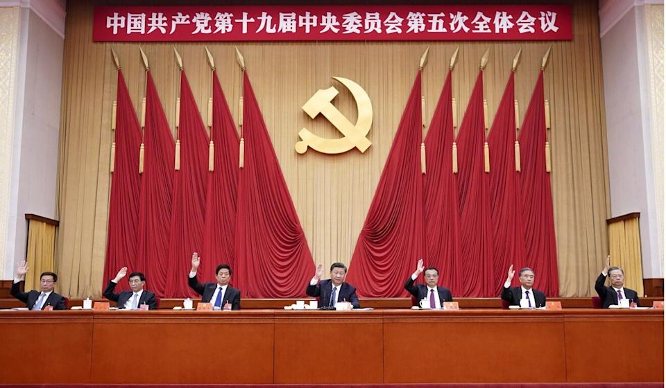 The Communist Party held its fifth plenum last week. Photo: AP