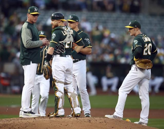 A new pitching strategy has left the A's confused and frustrated, according to reports. (AP)