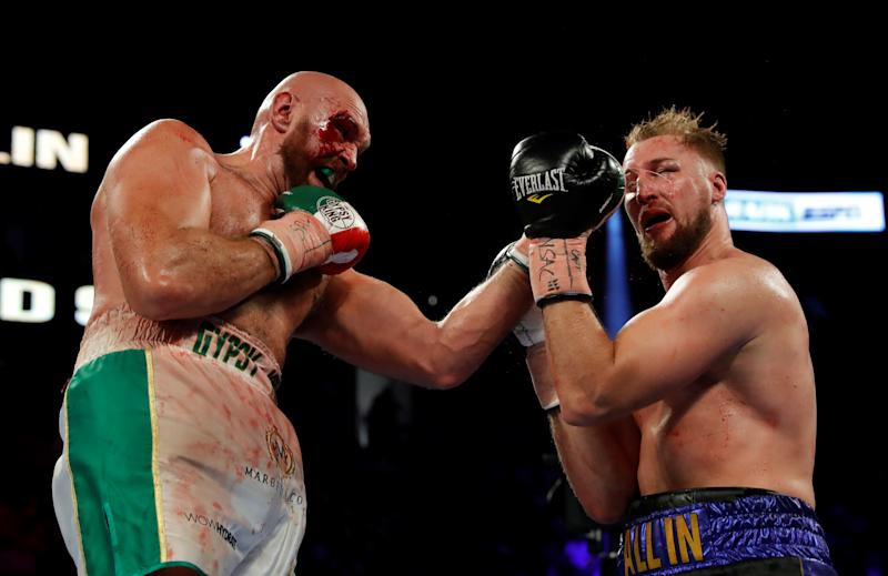 Image result for tyson fury vs otto wallin