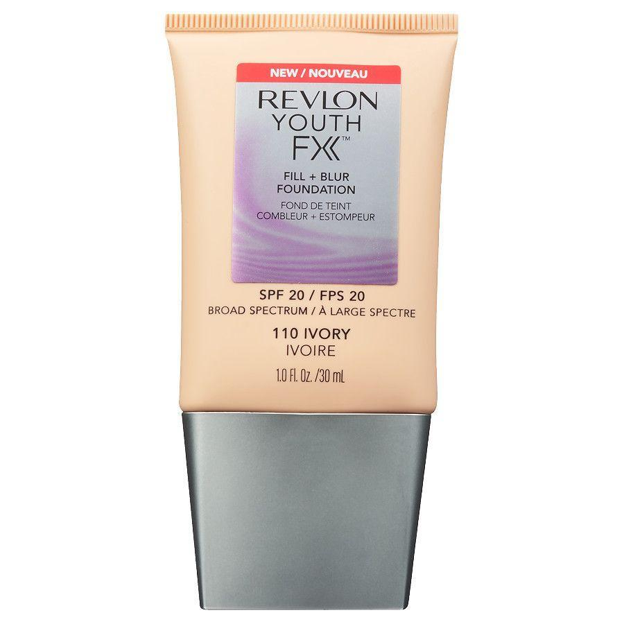 "<p>This lightweight formula doesn't just cover spots and bumps; it also blurs lines and wrinkles without settling into them.</p><strong>Revlon</strong>, $8.89, available at <a href=""https://jet.com/product/Revlon-Youth-FX-Fill-Blur-Foundation-Mocha/a5da9614403a42ae950430e5da2a242e?beaconId=a9e81bac-20f7-4d9e-b901-9788f2c081f4%2F11%2Fx~a5da9614403a42ae950430e5da2a242e&origination=PLP"" rel=""nofollow noopener"" target=""_blank"" data-ylk=""slk:Jet"" class=""link rapid-noclick-resp"">Jet</a>"