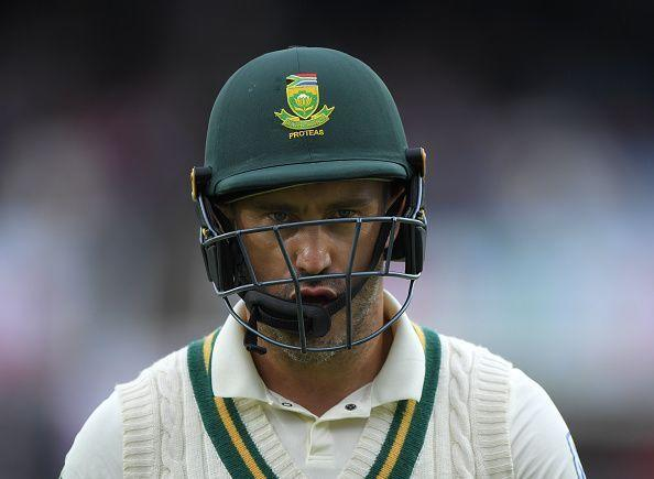 Du Plessis seems to be entering the twilight of his career