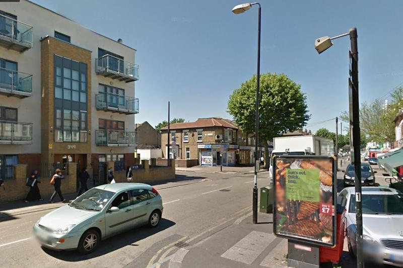 Stabbing: police were called to Katherine Road in Forest Gate: Google Streetview