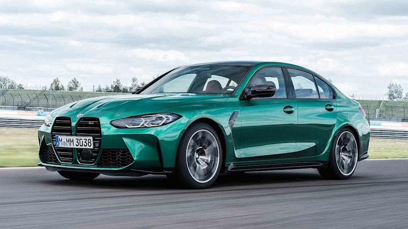 2021 BMW M3 Competition