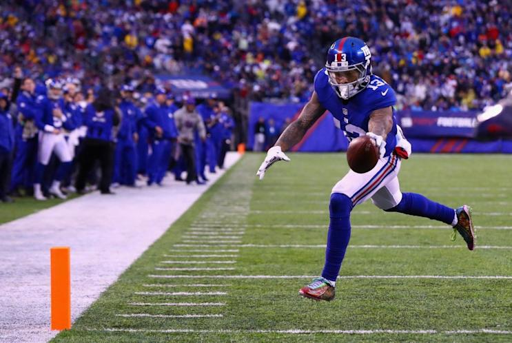 d8301f343 NFL fines Odell Beckham Jr. $18K for wearing cleats in honor of ...