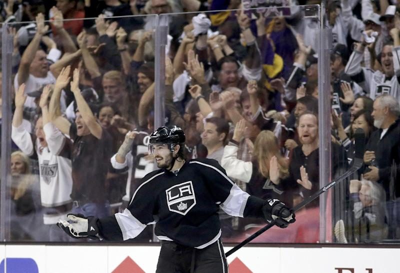 Kings' Doughty is a presence in Stanley Cup finals
