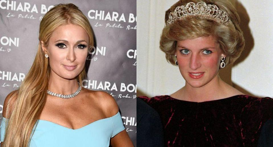 The thing Paris Hilton blames on her sex tape. (Getty Images/AP Images)