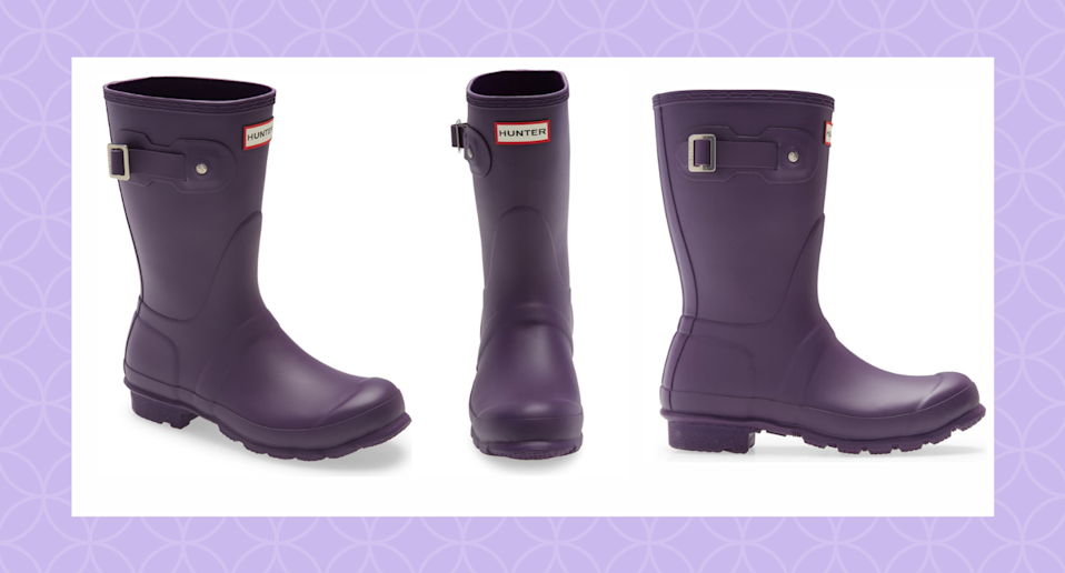 This customer-favourite pair of Hunter Boots is on sale now at Nordstrom.